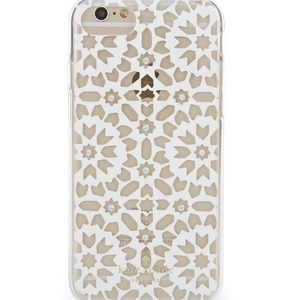kate spade Accessories - Kate Spade Clear Jeweled Mosaic iPhone 7 8 Case